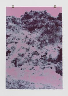 Pink Blue Peaks / via Print Club Boston