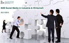 2. B2B Social Media in Industrie & Wirtschaft 2012 :: Interviews mit Referenten der Tagung #hdtb2b