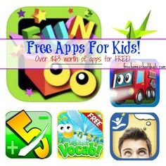 Free App Friday over $63 worth of free apps for kids!
