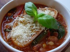 "Food So Good Mall: ""How to Make Tuscan Bean Soup"""