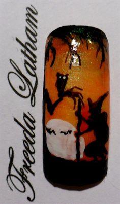halloween nail, art galleri, nailart, nail beauti, nail arts, fabul nail, nifti nail, nail idea