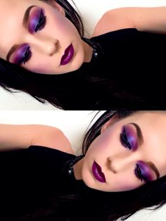 Gothic inspired makeup