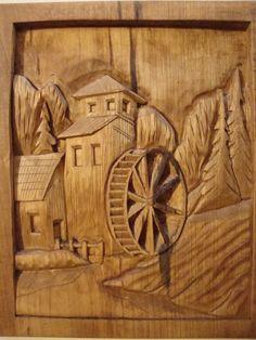 water wheels, di jsavagecr, hand carv, countri mill, carved wood, wheel hand, carv wood, wood carv, country