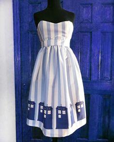 TARDIS dress #DoctorWho