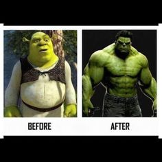 Before/After P90x