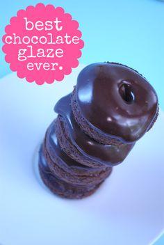 The Best Chocolate Glaze Ever