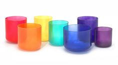 Color Therapy: Crystal Singing Bowls