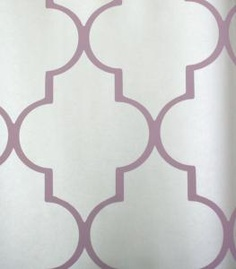 i like the idea of one interesting patterned wall, but i don't think i can do actual wallpaper in my apartment