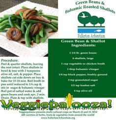 Green bean & balsamic roasted shallots made easy! #veggiepalooza #recipes #vegetables #mom