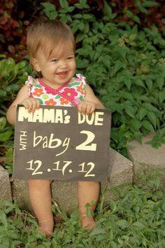 Best photo pregnancy announcements  pics!   BabyCenter Blog