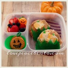 Love Peace Bento: Halloween Lunches - Part 1