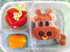 Giraffe lunch, and how to make it!