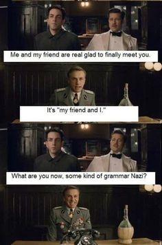 Grammar Nazi :P