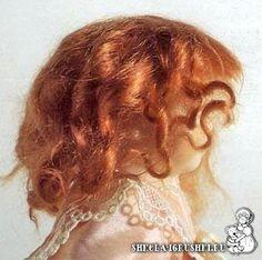 3 hair tutorials hair tutorials, волосы из, tilda doll, doll pattern, doll hair, free tilda, из тресса, tress tutori