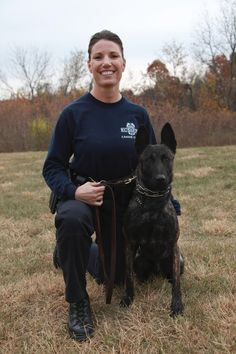 KCPD Canine Unit #womenpoliceofficers