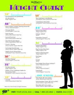 Walt Disney World Height Chart#post523397