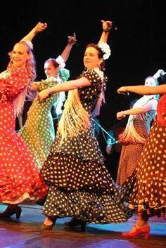Danses Sevillana et Flamenco Feria de Seville Avril