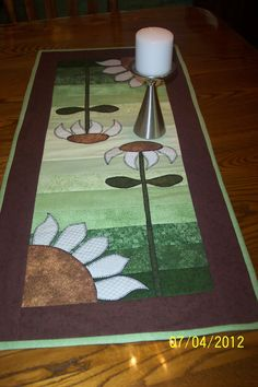 Sunflower Table Runner via Etsy.