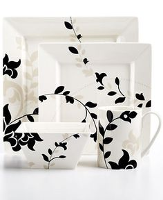 Martha Stewart Collection Toulon Collection - Casual Dinnerware - Dining & Entertaining - Macy's