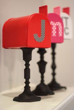 Valentine's Day mailboxes