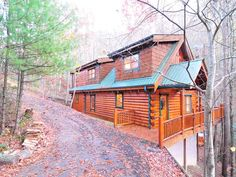 Cabin in the Smoky Mountains of Tennessee.