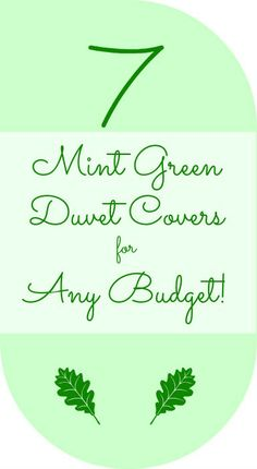 Mint Green Duvet Cover On Pinterest Duvet Covers Duvet