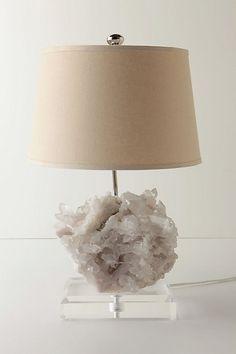 Rock Crystal Lamp