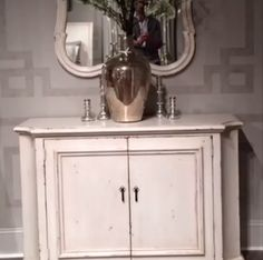Decorative Painting Idea - Finishes at Bernhardt's Showroom — High Point Fall Market 2013 Apartment Therapy #HPMKT