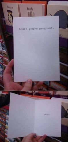 Brutally Honest greetings cards, found in Belfast, Ireland.   OMG I would totally send this to a friend!  :D