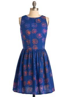 Shell from the Storm Dress | Mod Retro Vintage Dresses | ModCloth.com