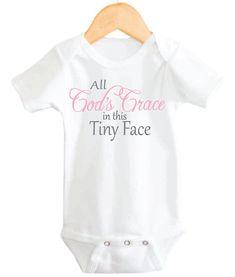 Christian Baby Onesie, Baby Girl Onesie, God Onesie, Christian Onesies, Baby Girl Onesies on Etsy, $14.99