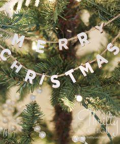 Merry Christmas Jute