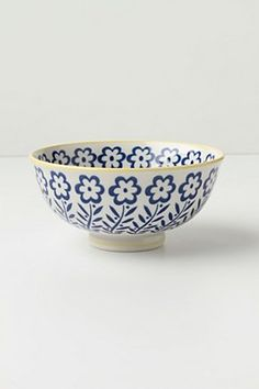 Atom Art Bowl, Blue   Anthropologie.eu
