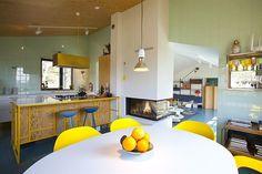 interior, kitchen, homes, folcker hous
