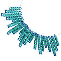 Tutorial - How to: Drops of Emerald Necklace | Beadaholique