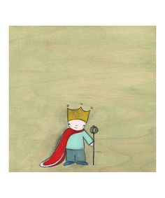 Take a look at this The King of Everything Print by Creative Thursday on #zulily today!