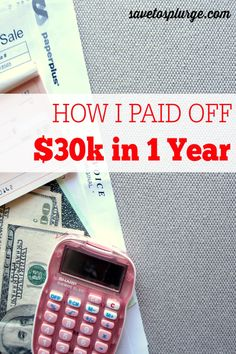 """The majority of us have some form of debt - student loans, credit cards, car, house, etc. See how I was able to pay off $30k of debt in just 1 year! It was a """"when life gives you lemons, make lemonade"""" kind of moment for me!"""