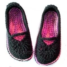 Adult Mary Jane Skimmers (crochet pattern) $5.95 permission to sell with credit