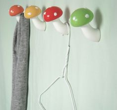 wall hooks, mushroom, gnome kitchen, kid rooms, coat hooks, hous, kid bathrooms, woodland kitchen, kitchen walls