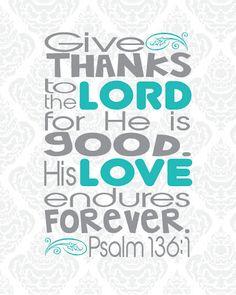 psalms, the lord, god, psalm 1361, memori vers, scriptur, quot, endur forev, bibl vers