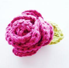 Crochet~ Rose- Free Pattern