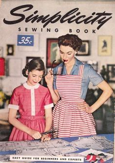 Simplicity vintage sewing book