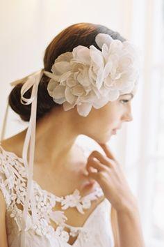 Erica Elizabeth Designs Bridal Headpiece