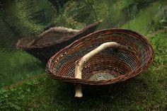 Large tray branch by Karen Gossart