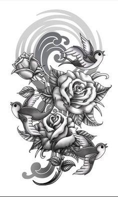 sleeve tattoo  sweet!!