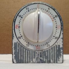 Vintage Lux Clock Mfg Co Kitchen Timer Made in Waterbury Conn U s A   eBay