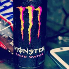 Monster Energy Drink Taken By me C: