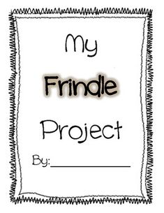 Frindle Project- 14 pages!