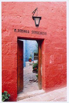 Santo Domingo Colonial Convent - Arequipa, Peru