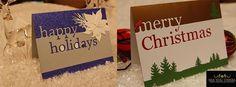 Happy Holidays Memory Box die